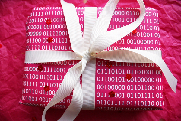 Binary Wrapping Paper