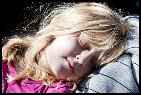 Audrey Sleeping