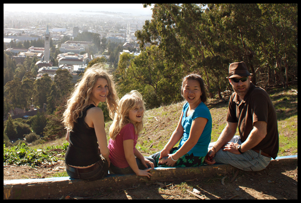 Berkeley Hills Bench