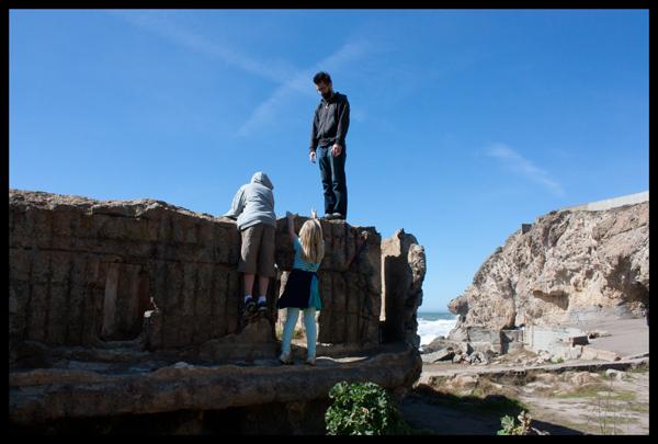 Climbing Sutro Bath Ruins