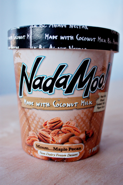 Nada Moo Maple Pecan Ice Cream