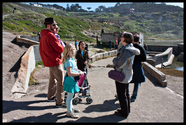 Group Sutro Baths