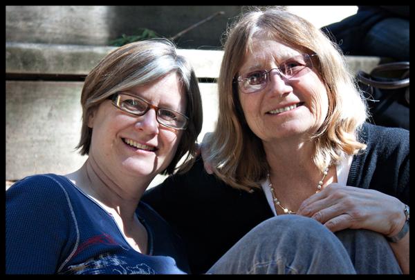 Naomi and Mom Berkeley Redwood Grove