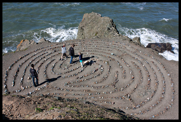 Walking Lands End Labyrinth