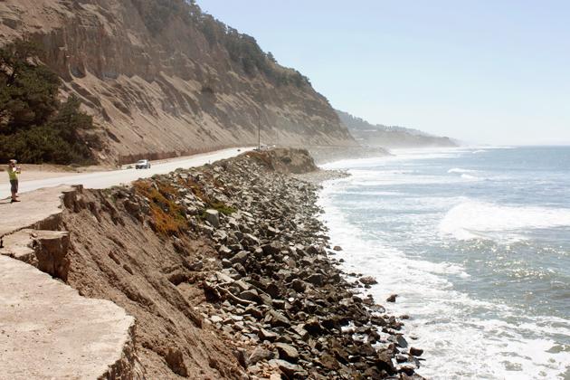 Cliffs Highway 1 California