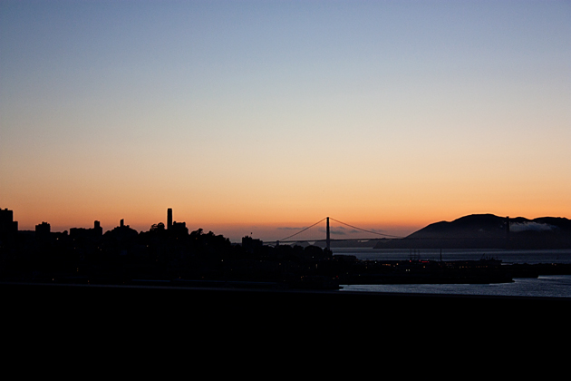 Sunset Golden Gate Bridge