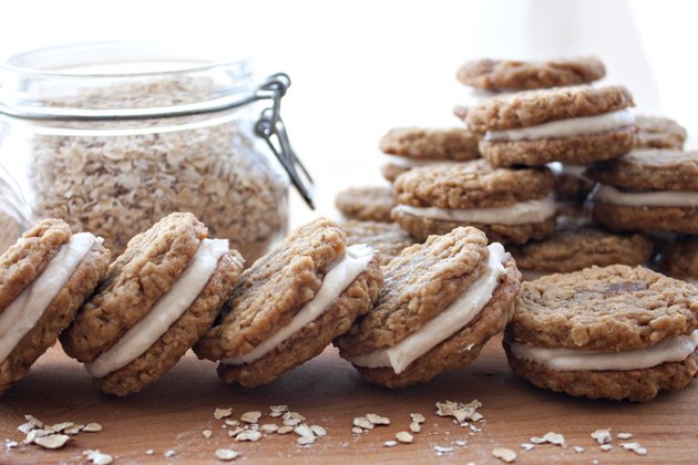 Oatmeal Cream Pie Cookies