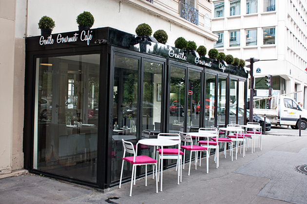 Gentle Gourmet Cafe Paris France