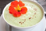 Cucumber Avocado Soup Gentle Gourmet Cafe Paris