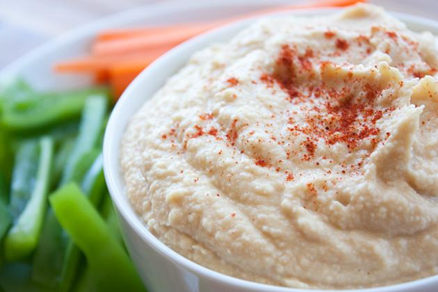 Toasted Sesame Seed Hummus