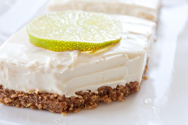 Vegan Lime Cheesecake Bars | Fruit of Adventure