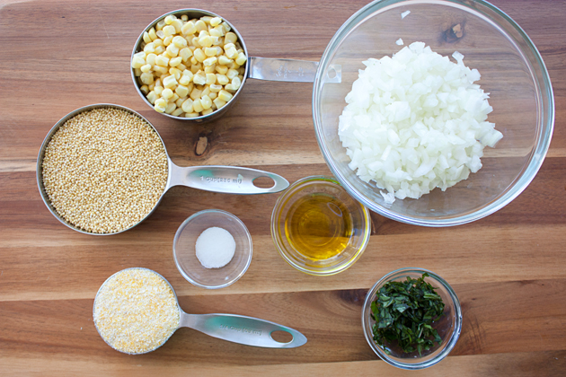 Millet Cake Ingredients