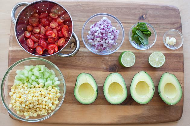 Organic Corn Avocado Salsa