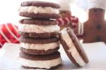 Vegan Cream-Filled Ginger Molasses Cookies
