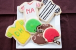 Football Cut Out Cookies