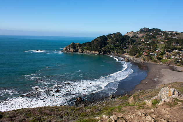 Muir Beach from Coastal Trail