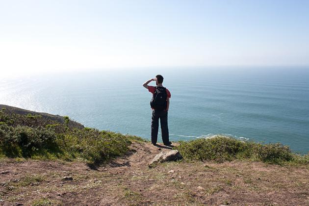 Coastal Trail Cliff Marin California