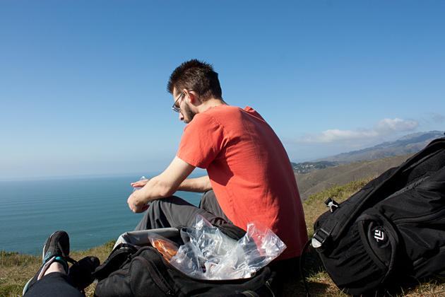 Lunch on the Coastal Trail
