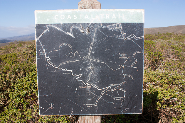 Coastal Trail Map