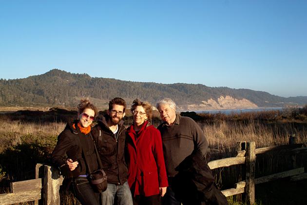 Family at Ano Nuevo